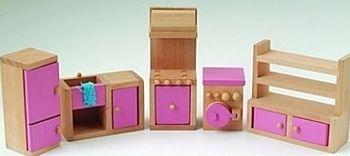 Gamme ENFANTS - MOBILIER miniature en BOIS = Cuisine