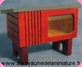 Set 4 LAPINS miniatures