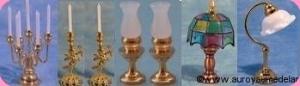 LUMINAIRES miniatures