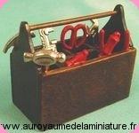 OUTILLAGE - Set 3 OUTILS miniatures - D2344