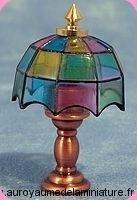 Luminaire non Fonctionnel LAMPE miniature  TIFFANY