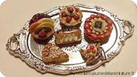BOULANGERIE - PLATEAU miniature+ PETITS-FOURS