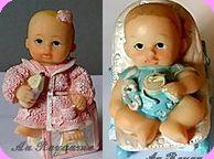COLLECTION BABIES - PERSONNAGES tout en RESINE, Corps & Vêtements - Ech. 1/12