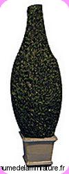 JARDIN - Grande TOPIAIRE miniature en RESINE