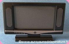 SALON - TV Ecran plat, Coloris NOIR - D1162