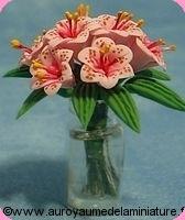 VASE miniature de LYS, Coloris ROSE