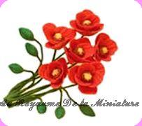 FLEURS COUPEES miniatures<br /> pour composer vous-mêmes, vos Bouquets