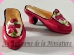 CHAUSSURES miniatures, Coloris JAUNE - D1034