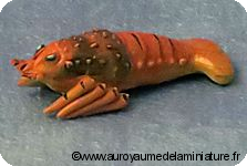 POISSONNERIE miniature - LANGOUSTINE miniature -D82058