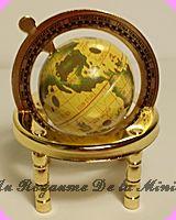 BUREAU  / MAPPEMONDE miniature LUXE
