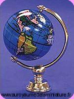 BUREAU - ECOLE / Grande MAPPEMONDE miniature