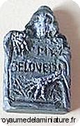 HALLOWEEN - STELE miniature, Echelle 1/24