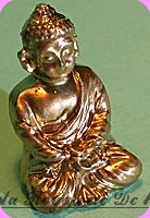 DECO - BOUDDHA miniature , Coloris Doré