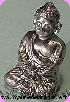 DECO - BOUDDHA miniature, Coloris ARGENT