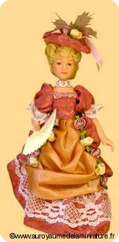 Echelle 1/10 - COLLECTION > POUPEE porcelaine