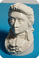 BUSTE miniature de MOZART, Coloris IVOIRE