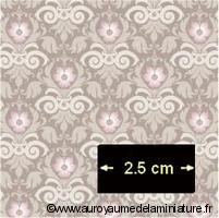 Feuille PAPIER PEINT - 45 x 29 cm