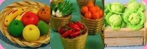 FRUITS / LEGUMES  miniatures