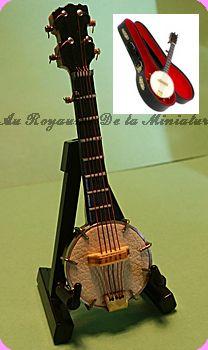 MUSIQUE miniature LUXE - MANDOLINE miniature - STR/9153
