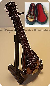 MUSIQUE miniature LUXE - BANJO  miniature - 9154