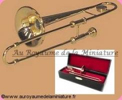 MUSIQUE miniature LUXE - TROMBONE miniature - 9157