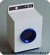 LAVE-LINGE miniature, Hublot bleu - DF178