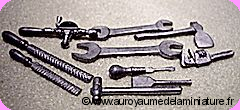 Set 10 OUTILS miniatures DELUXE