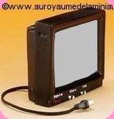 SALON - TV miniature en Résine