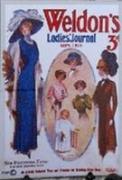 COUTURE Miniature - Poster WELDONS de MODE FEMININE
