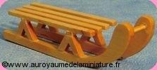JOUETS de PLEIN-AIR - LUGE miniature