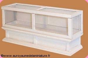 COMMERCE - COMPTOIR  / VITRINE vitrée