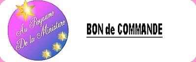 BON DE COMMANDE réservé à
