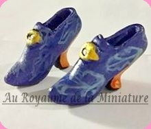 CHAUSSURES miniatures, Style VICTORIEN
