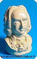 BUSTE miniature de J.S. BACH ,  Coloris IVOIRE