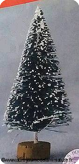 NOEL - SAPIN miniature Enneigé