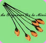 FLEURS COUPEES - TULIPE orange,  VENDUE à l' UNITé