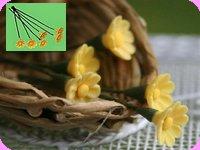FLEURS COUPEES - MARGUERITE miniature, Coloris JAUNE - VENDUE à l' UNITé