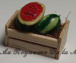 Cagette de PASTEQUES  miniatures