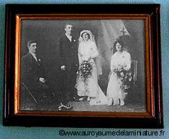 CADRE miniature MARIAGE