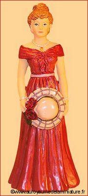 Personnage miniature en RESINE, FEMME miniature, Style VICTORIEN