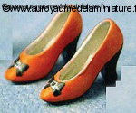 CHAUSSURES miniatures, Coloris ORANGE