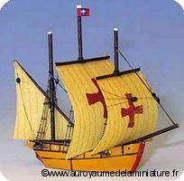 DECO - BATEAU miniature, Le SANTA MARIA de Christophe Colomb